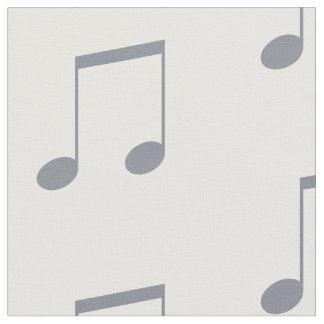 Tela Modelo de la nota musical