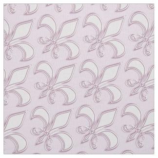 Tela Modelo de la púrpura real de la flor de lis