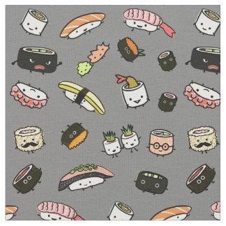 Tela Modelo de los caracteres del sushi