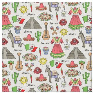 Tela Modelo de los símbolos de México el |