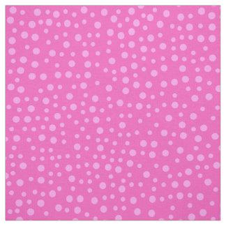 Tela Modelo de lunar rosado