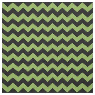 Tela Modelo negro verde de los galones 2017 del zigzag