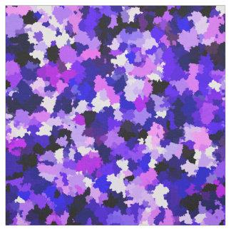 Tela Modelo púrpura rosado azul del extracto del