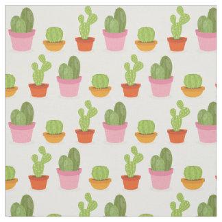 Tela Modelo suculento lindo del trío del cactus