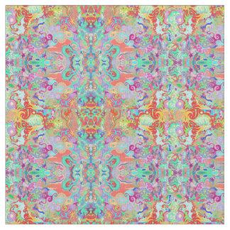 Tela multicolora del fractal del compás