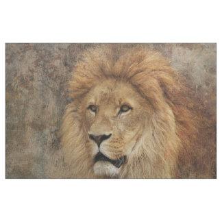 Tela Naturaleza de África de la fauna del león