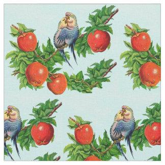 Tela parakeets en amor
