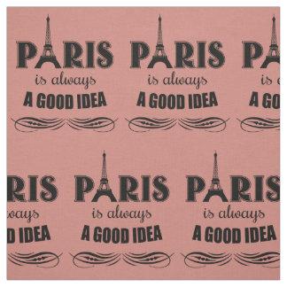 Tela París es siempre una buena idea