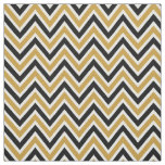 Tela Pattern Chevron Black & Gold