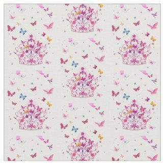 Tela Pequeñas mariposas femeninas fantásticas hermosas