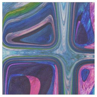 Tela Pequeños cubos coloridos psicodélicos