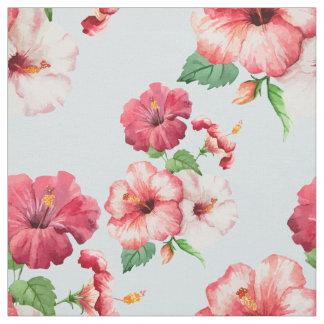 Tela Personalizable floral hawaiano del hibisco