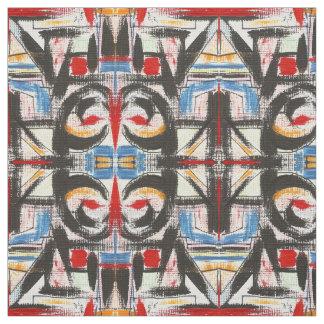Tela Pinceladas abstractas pintadas Brooklyn-Mano
