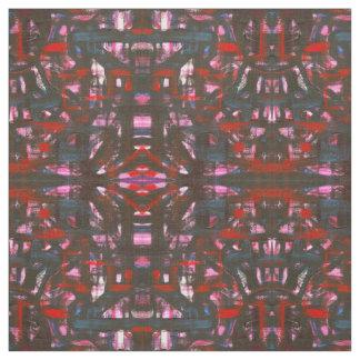 Tela Pinceladas abstractas pintadas Puesta del sol-Mano