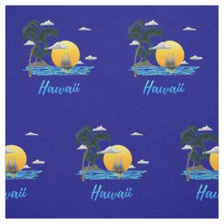 Tela Puesta del sol de la playa de Hawaii