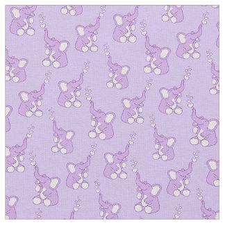 Tela púrpura del cuarto de niños del modelo del