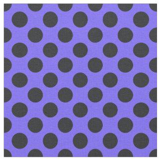 Tela púrpura y negra del lunar
