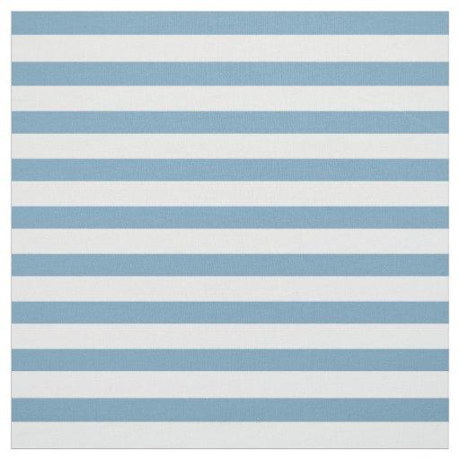 Tela Rayas azules y blancas de Carolina pequeñas