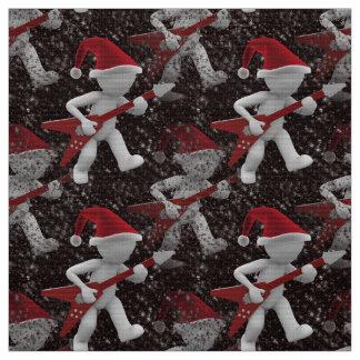 tela rockstar del navidad de Navidad de santa