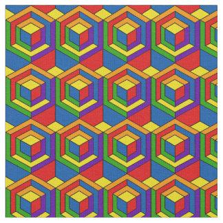 Tela Rompecabezas hexagonal - arte pop