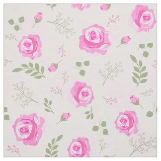 Tela rosada hermosa de los rosas