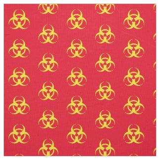 Tela Símbolo amarillo del Biohazard