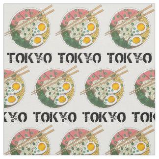Tela Sopa de fideos japonesa de los Ramen de la comida