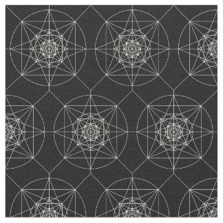 Tela Tercera geometría sagrada dimensional