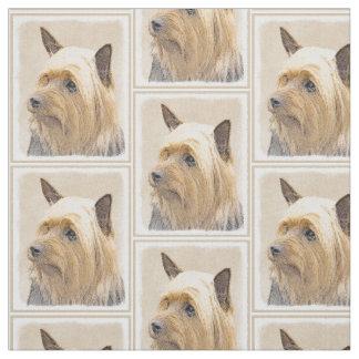 Tela Terrier sedoso que pinta - arte original lindo del