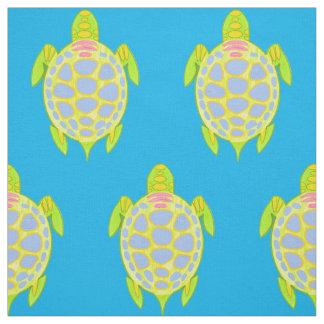 Tela Tortugas coloridas en el mar