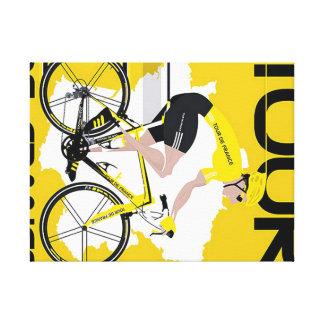 Tela Tour de France Impresiones En Lona