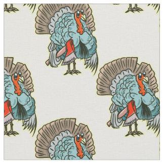 Tela Turquía con una acción de gracias divertida del