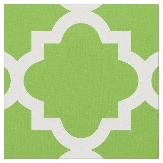 Tela verde del modelo el | de Quatrefoil Telas