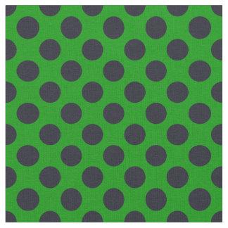 Tela verde y negra del lunar