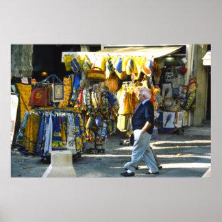 Telas de Provencal, Cours Mirbeau, Provence Posters