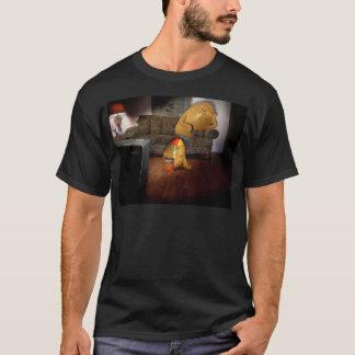 Teleadictos padre y hijo camiseta