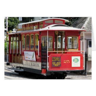 Teleférico de San Francisco Tarjeta De Felicitación