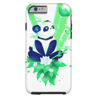 Teléfono de la panda funda resistente iPhone 6