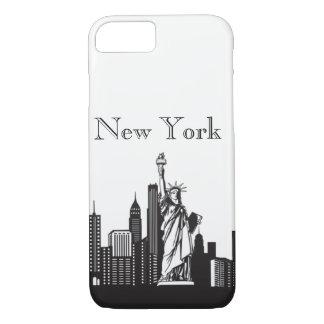 Teléfono de Nueva York Silhoutte y casos de Ipad Funda iPhone 7