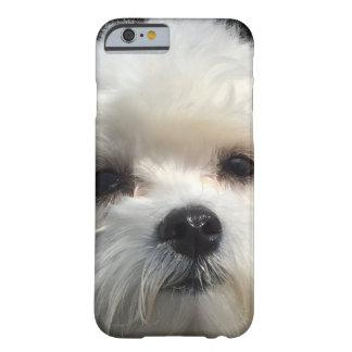 Teléfono del perro funda barely there iPhone 6