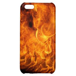 Teléfono en el fuego