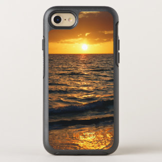 Teléfono móvil tropical de la playa funda OtterBox symmetry para iPhone 8/7