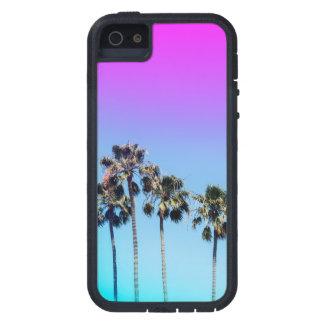 Teléfono retro de la palmera de Ombre California Funda Para iPhone SE/5/5s