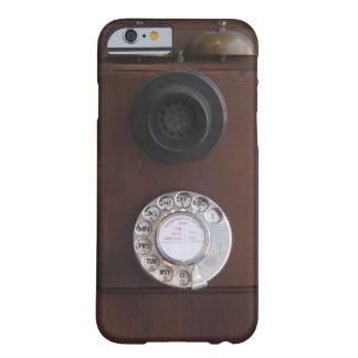 Teléfono retro funda para iPhone 6 barely there