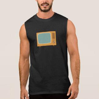 Televisión de color del vintage camiseta sin mangas