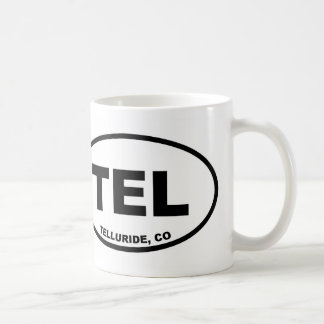 Telururo Colorado del teléfono Taza De Café