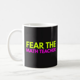 Tema al profesor de matemáticas - taza de
