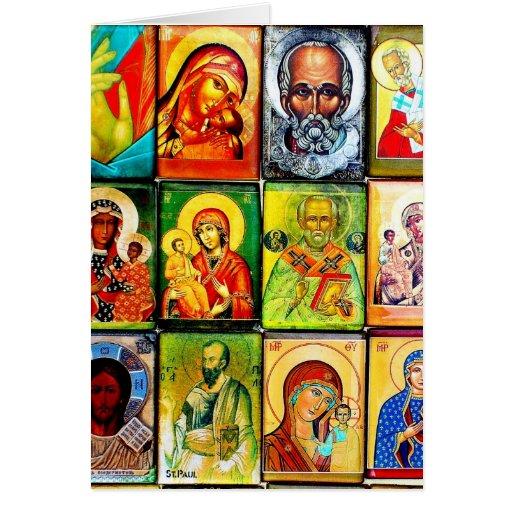 Tema cristiano Notecard religioso Tarjeton