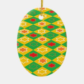 Tema cuadrado ornamento para reyes magos