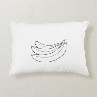 Tema de los plátanos de la almohada cojín